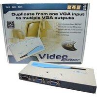 VGA Splitter 2 Port Connect a PC to 2 Monitors VSA12