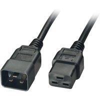IEC C19 to IEC C20 Extension Lead Black 2.5m sale image