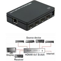 4 Port HDMI Switch High Speed with Ethernet ARC 3D Support