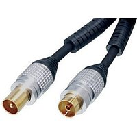 5m Aerial Cable - OFC Male Plug to Female Socket Cable sale image