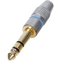 6.35mm Stereo Jack Plug HQ Gold Plated Metal Body 1/4 inch sale image