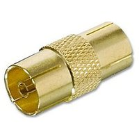 Philips Female - Female Aerial Adapter Coupler sale image
