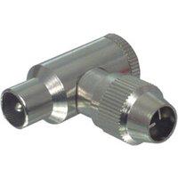 TV Aerial Plug - TV Angled Coaxial plug sale image