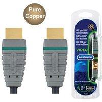 Bandridge BVL1201 1m HS with Ethernet HDMI Cable v1.4 sale image