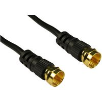 Satellite Lead F-Plug to Plug 1.5m Cable sale image