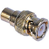 Phono to BNC Adapter - Gold Plated 3 Pack sale image