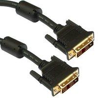 10m DVI Cable Single Link - DVI-D Pro Grade Gold