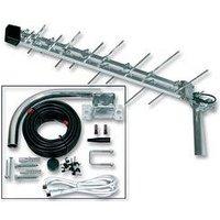 Digital TV Aerial UHF - Megaboost Aerial Built In Signal Booster Amplifier 27885R