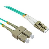 0.5m LC-SC OM4 Fibre Optic Network Cable