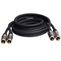 1m Stereo Audio Cable Profigold PGA4201 2x RCA
