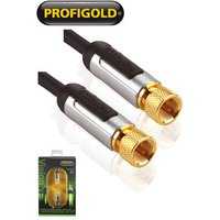 Profigold PROV9005 Sky HD Satellite Dish Freesat F Plug to F Plug Cable 5m sale image