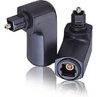 Right Angle TOSLink Optical Adapter 90 Degree sale image