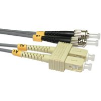 0.5m Fibre Optic Cable ST-SC 62.5/125 OM1
