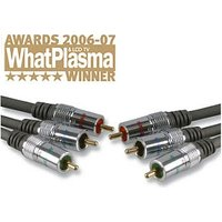 Techlink 680141 1.5m Component Cable Gold Plated OFC Wires CR