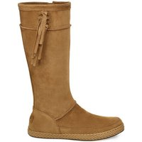 UGG Womens Emerie Boot in Chestnut, Size 9, Leather