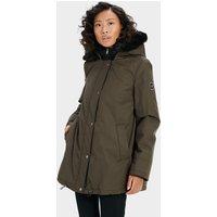 UGG Womens Bernice Parka Jacket in Olive, Size XS, Nylon