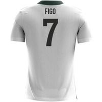 2018-2019 Portugal Airo Concept Away Shirt (Figo 7) - Kids