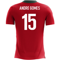 2018-2019 Portugal Airo Concept Home Shirt (Andre Gomes 15) - Kids