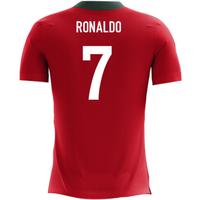 2018-2019 Portugal Airo Concept Home Shirt (Ronaldo 7) - Kids