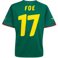 2010-11 Cameroon World Cup home (Foe 17)