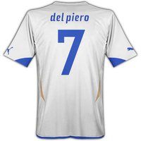 2010-11 Italy World Cup Away (Del Piero 7)