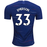 2018-2019 Chelsea Nike Vapor Home Match Shirt (Emerson 33) - Kids