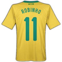 2010-11 Brazil World Cup Home (Robinho 11)