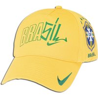 2010-11 Brazil Nike Core Federation Cap (Yellow)