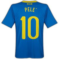 2010-11 Brazil World Cup Away (Pele 10)