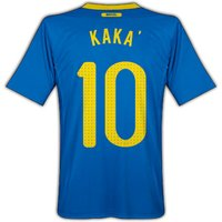 2010-11 Brazil World Cup Away (Kaka 10)
