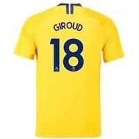 2018-2019 Chelsea Away Nike Football Shirt (Giroud 18) - Kids