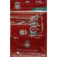 Liverpool FC Stationery Set 10 Pack