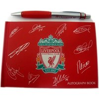 Liverpool FC Autograph & Pen Set