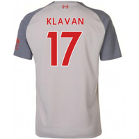 2018-2019 Liverpool Third Football Shirt (Klavan 17) - Kids