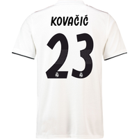 2018-19 Real Madrid Home Football Shirt (Kovacic 23)