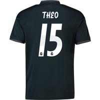 2018-19 Real Madrid Away Shirt (Theo 15) - Kids