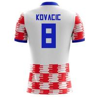 2018-19 Croatia Home Concept Shirt (Kovacic 8) - Kids