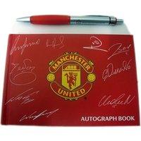 Manchester United FC Autograph & Pen Set