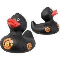Manchester United FC Bath Time Duck (Black)