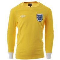 2010-11 England World Cup Long Sleeve Goalkeeper Shirt