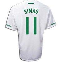 2010-11 Portugal World Cup Away (Simao 11)
