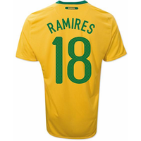 2010-11 Brazil World Cup Home (Ramires 18)