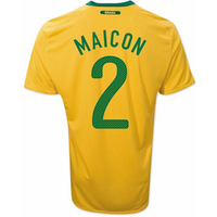 2010-11 Brazil World Cup Home (Maicon 2)