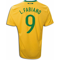 2010-11 Brazil World Cup Home (L.Fabiano 9)