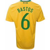 2010-11 Brazil World Cup Home (Bastos 6)