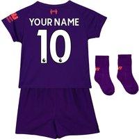 2018-2019 Liverpool Away Baby Kit (Your Name)