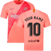 2018-2019 Barcelona Third Nike Football Shirt (Your Name)