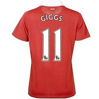 2010-11 Man Utd Nike Womens Home Shirt (Giggs 11)