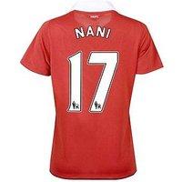 2010-11 Man Utd Nike Womens Home Shirt (Nani 17)