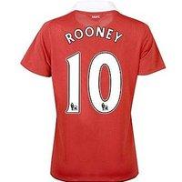 2010-11 Man Utd Nike Womens Home Shirt (Rooney 10)